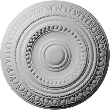 Restorers Architectural 15 3/4 Inch Artis Prefinished Ceiling Medallion