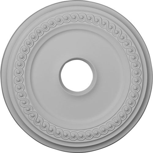Restorers Architectural 18 Inch Classic Prefinished Ceiling Medallion