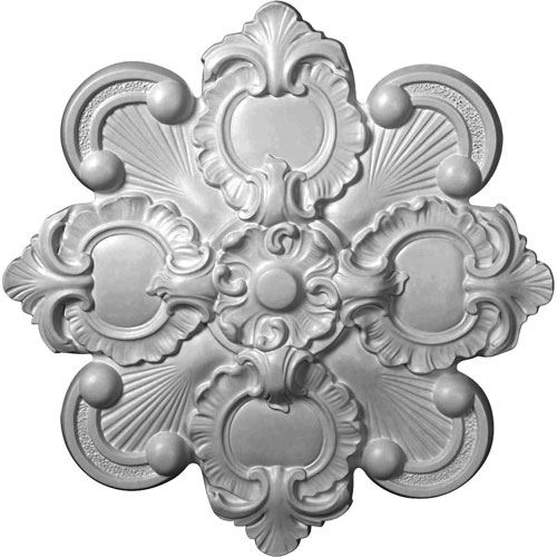 Restorers Architectural 18 Inch Katheryn Prefinished Ceiling Medallion