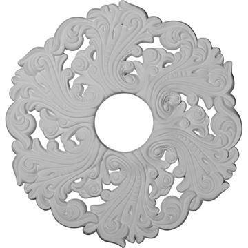 Restorers Architectural 19 Inch Orrington Prefinished Ceiling Medallion