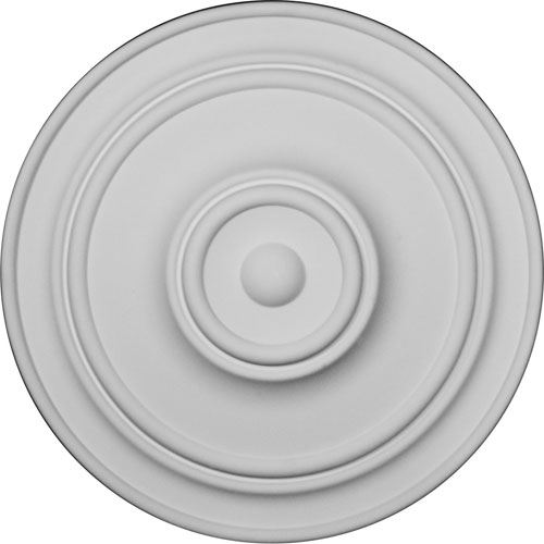 Restorers Architectural 22 Inch Classic Prefinished Ceiling Medallion