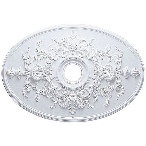 Restorers Architectural 30 Inch Alexa Prefinished Ceiling Medallion