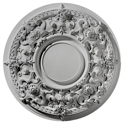 Restorers Architectural 33 Inch Jackson Prefinished Ceiling Medallion