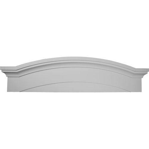 Restorers Architectural 57 1/2 Emery Urethane Pediment