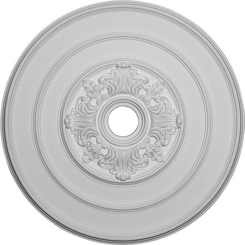 Restorers Architectural Acanthus 26 Inch Prefinished Ceiling Medallion