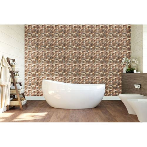 Restorers Architectural Ancient Boat Wood Mosaic Wall Tile