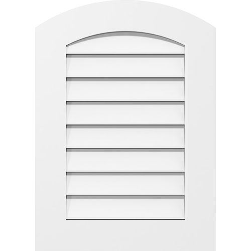 Restorers Architectural Arch Top Standard Frame PVC Gable Vent