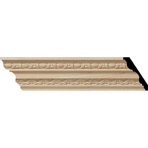 Restorers Architectural Bedford 3 1/4 Carved Crown Molding