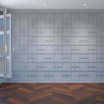 Restorers Architectural Burnett PVC Decorative Fretwork Wall Panel