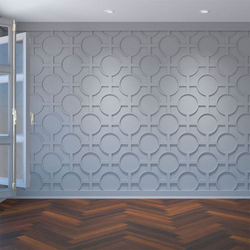 Restorers Architectural Chesterfield PVC Fretwork Wall Panel