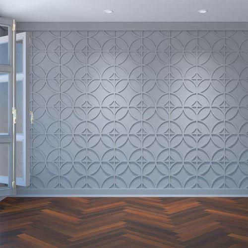Restorers Architectural Crosby PVC Fretwork Decorative Wall Panel