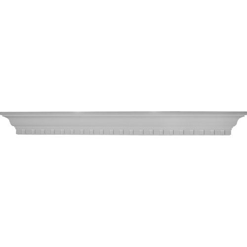 Restorers Architectural Dentil 48 Urethane Shelf