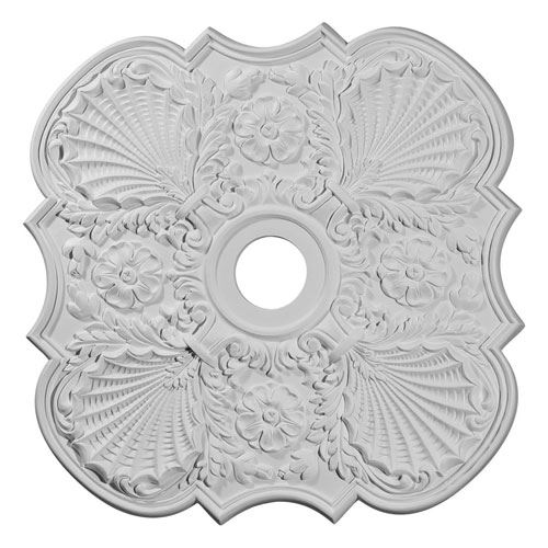 Restorers Architectural Flower 29 Prefinished Ceiling Medallion