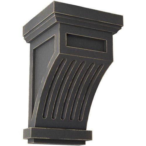 Restorers Architectural Fluted 7 Inch Prefinished Corbel