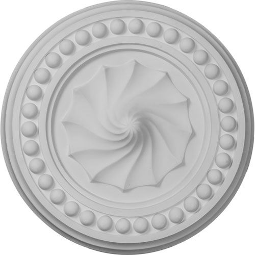 Restorers Architectural Foster Shell Prefinished Ceiling Medallion