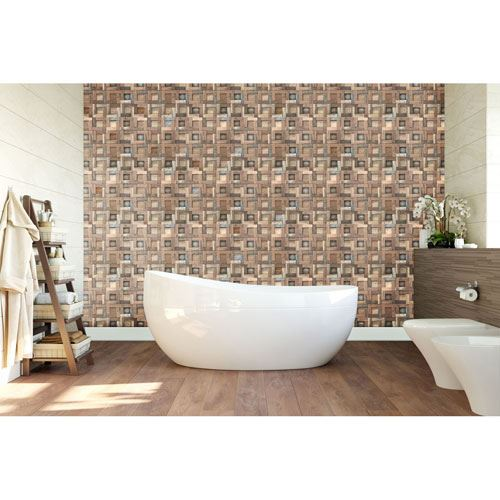Restorers Architectural Freeport Boat Wood Mosaic Wall Tile