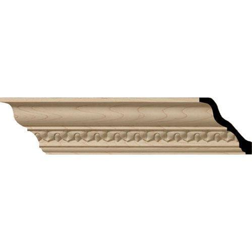 Restorers Architectural Lanarkshire 3 1/4 Carved Crown Molding