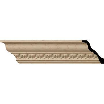 Restorers Architectural Lanarkshire 6 3/4 Carved Crown Molding