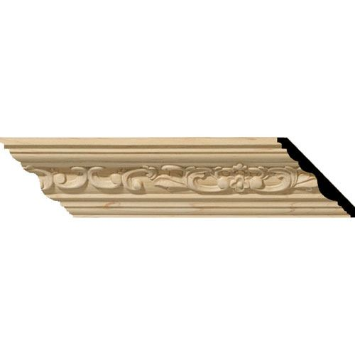Restorers Architectural Medway 3 1/4 Carved Crown Molding