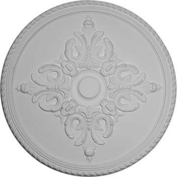 Restorers Architectural Milton Prefinished Ceiling Medallion