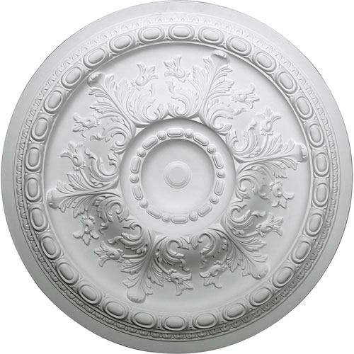 Restorers Architectural Oslo 38 3/8 Prefinished Ceiling Medallion