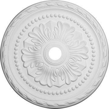 Restorers Architectural Palmetto 31 1/2 Prefinished Ceiling Medallion
