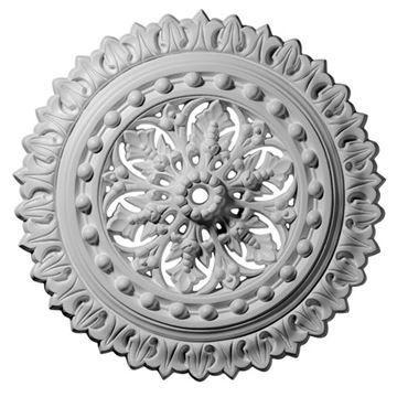 Restorers Architectural Sellek 18 1/2 Prefinished Ceiling Medallion