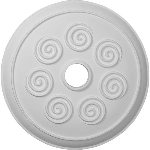 Restorers Architectural Spiral Prefinished Ceiling Medallion