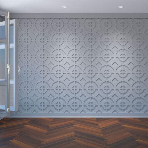 Restorers Architectural Sullivan PVC Fretwork Decorative Wall Panel