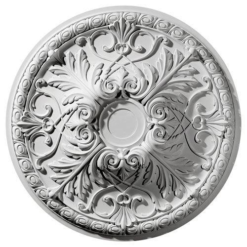 Restorers Architectural Tristan 32 3/8 Prefinished Ceiling Medallion