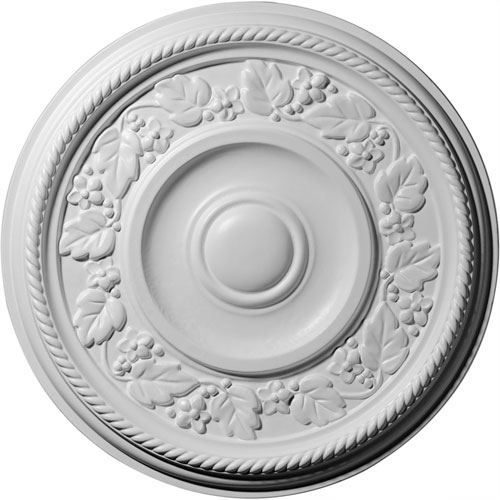 Restorers Architectural Tyrone Prefinished Ceiling Medallion
