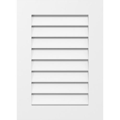 Restorers Architectural Vertical Standard Frame PVC Gable Vent