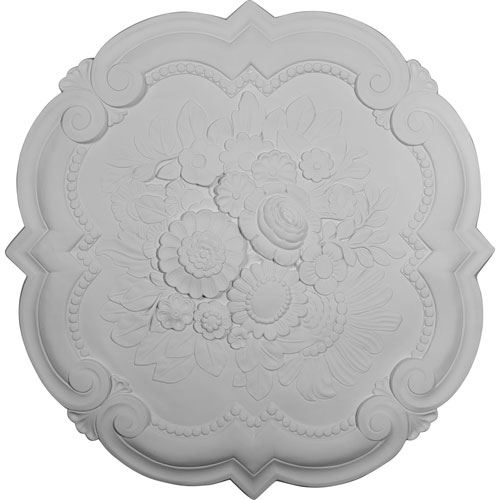 Restorers Architectural Victorian Prefinished Ceiling Medallion