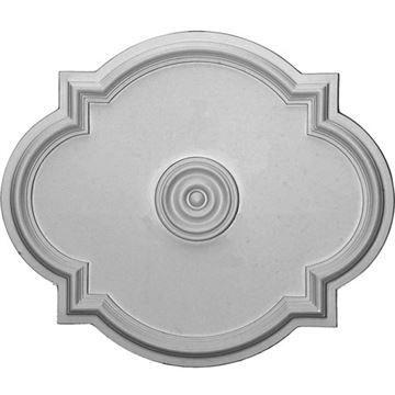 Restorers Architectural Waltz 24 Prefinished Ceiling Medallion