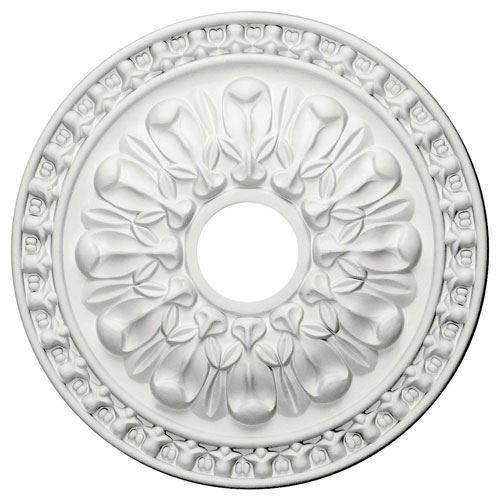 Restorers Architectural Warsaw Prefinished Ceiling Medallion