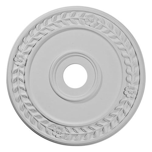 Restorers Architectural Wreath 21 1/8 Prefinished Ceiling Medallion
