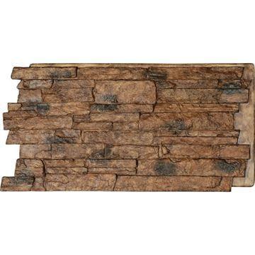 StoneWall Acadia Ledge Stacked Stone Faux Stone Wall Siding Panel