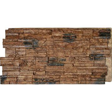 StoneWall Cascade Stacked Stone Faux Stone Wall Siding Panel