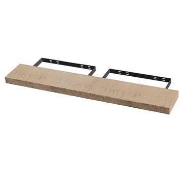 Designs of Distinction 60 Inch Hand Scraped Floating Shelf