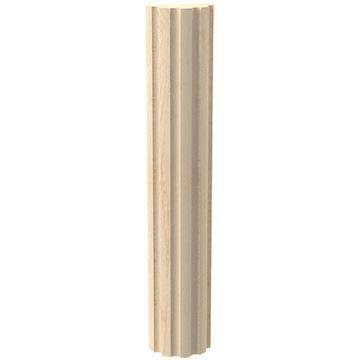 Designs of Distinction Create-A-Column 1 1/2 Half Round Flute Molding