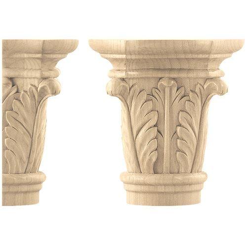 Designs of Distinction Create-A-Column Acanthus Capital - Pair