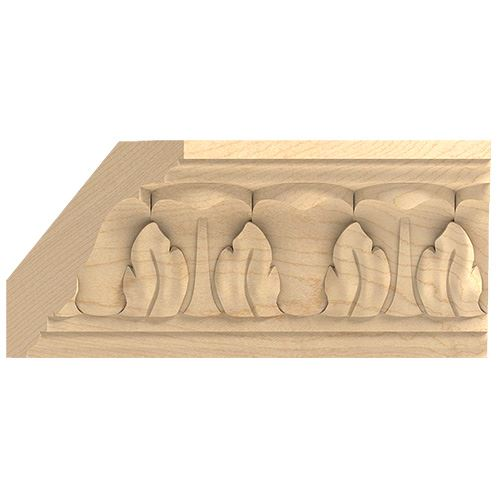 Designs of Distinction Hand Carved 2 Inch Acanthus Crown Molding