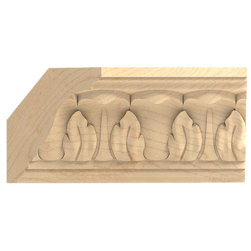 Designs of Distinction Hand Carved 2 Acanthus Crown Molding