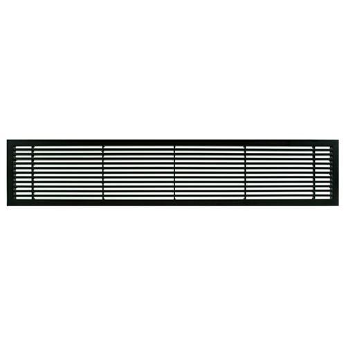 Architectural Grille Black Matte Bar Grille - 45 Deflection