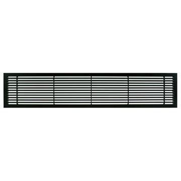Architectural Grille Black Matte Bar Grille & Door - 45 Deflection