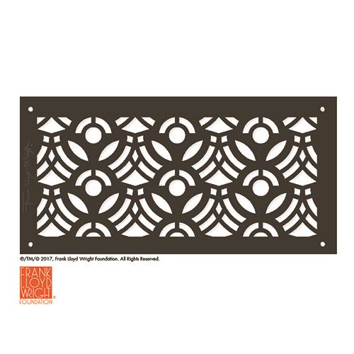Architectural Grille Frank Lloyd Wright April Flowers Grille