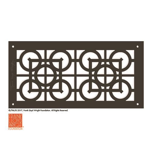 Architectural Grille Frank Lloyd Wright Luxfer Lattice Major Grille