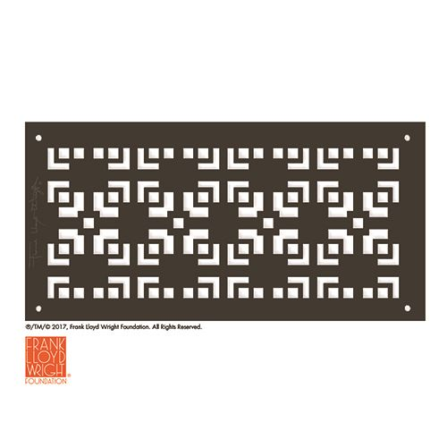 Architectural Grille Frank Lloyd Wright Mimosa Grille