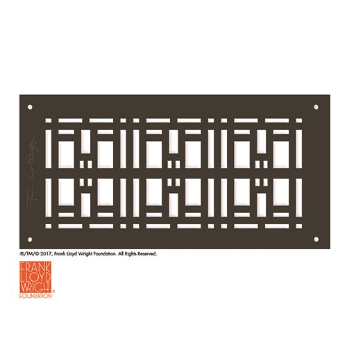 Architectural Grille Frank Lloyd Wright Trellis Grille