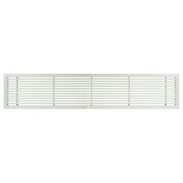 Architectural Grille White Matte Bar Grille & Door - 45 Deflection